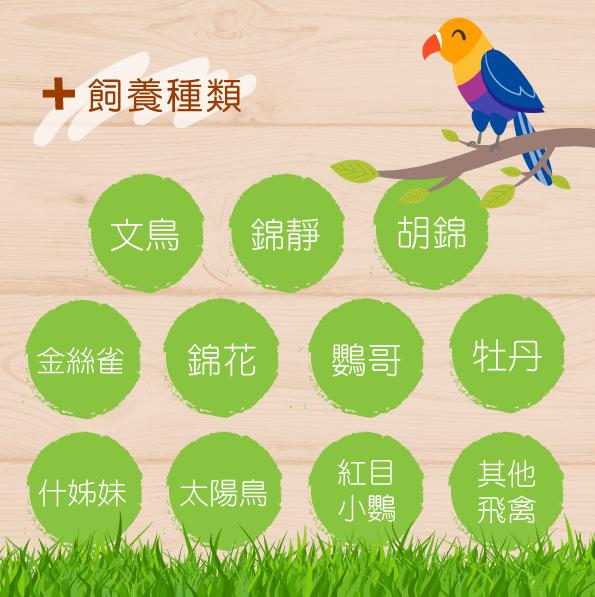 提供完整均衡的營養,適合多種鳥類食用│全球寵物鳥用品製造專家