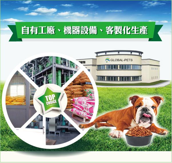 客製化生產,滿足狗狗所有需求│全球寵物-戀戀乾狗糧