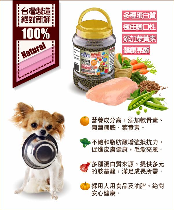 多種蛋白質來源,滿足愛犬成長所需│全球寵物-小淘氣狗乾糧